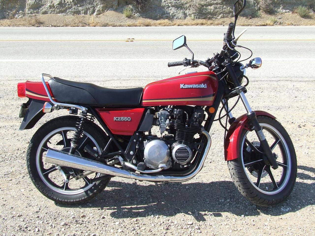 1980 Kawasaki GPZ550